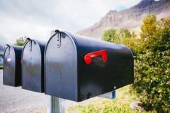 Skrzynki pocztowa, Iceland Zdjęcie Royalty Free
