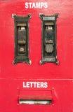 Skrzynki pocztowa poczta Zdjęcie Stock