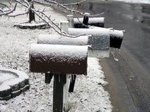 skrzynki pocztowe Zdjęcie Stock