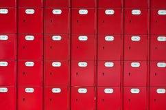 skrzynki poczty biura czerwony Fotografia Stock