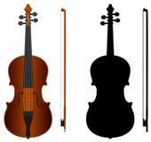 skrzypce Ilustracji