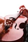 Skrzypcowy bawić się skrzypaczka muzyk Fotografia Royalty Free