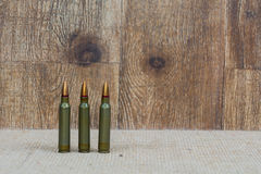 SKS Ammunition in military green Stock Photography