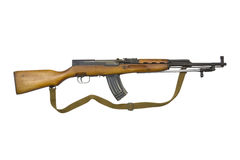 SKS Assault Rifle Royalty Free Stock Photos