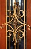 Skucie szczegół nad drzwi fotografia royalty free