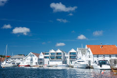 Skudeneshavn village in Norway Stock Images