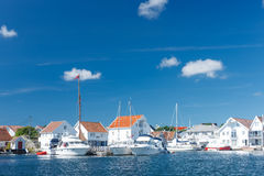Skudeneshavn village in Norway Stock Photos