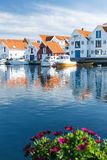 Skudeneshavn village in Norway Stock Image