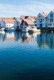 Skudeneshavn village in Norway Royalty Free Stock Image