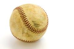 Skuffed Baseball-Recht-Ausschnitt Pfad Stockfotos