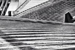 Skugga av en trappuppgång Fotografering för Bildbyråer