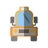 Skugga för transport för vehicule för taxitaxi Royaltyfri Fotografi