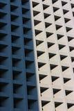 Skugga och ljust område av byggnad Arkivfoton