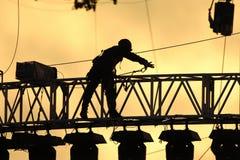 skuggaarbetare Fotografering för Bildbyråer