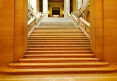 Skuggad marmortrappa Royaltyfria Foton