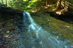 Skuggadelstatsparkvattenfall Royaltyfria Foton