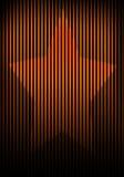 skuggninde den ljusa målningen för gallret stjärnaväggen Royaltyfria Foton
