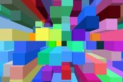 Skuggningsbakgrundslinjer Arkivbild
