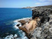 50 skuggor av Tenerife Arkivbild
