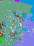 Skuggor av vitt vatten Arkivbilder