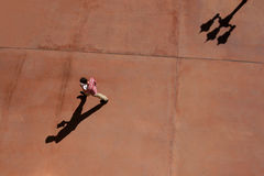 skuggor går fotografering för bildbyråer