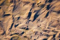 Skuggor och färger på stranden Royaltyfria Foton
