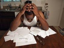 skuld för 3 deppigheter arkivbilder