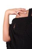 skulderkvinna för hand s Royaltyfria Bilder