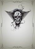 Skull_04 Imagem de Stock