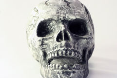 Skull. Personifying evil, death and negativity Royalty Free Stock Photography