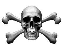 Free Skull And Crossbones Illustration Isolated In Background - Illustration Stock Photo - 121785280