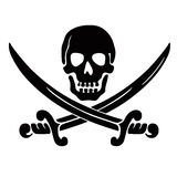 Skull And Swords Royalty Free Stock Images