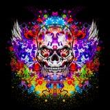Skull art Stock Images