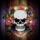 Skull art Stock Photography