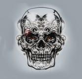 Skull art Stock Photo