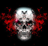 Skull art Royalty Free Stock Photography