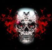 Skull art Royalty Free Stock Photography