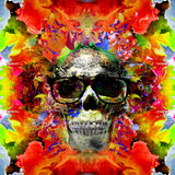 Skull art Stock Photography