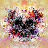 Skull art Royalty Free Stock Photo
