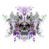 Skull art Stock Photos
