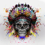 Skull art Royalty Free Stock Photos