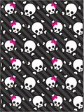 Skull Background Royalty Free Stock Images