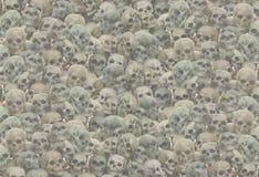 Skull background Stock Photo