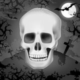Skull Background Stock Images
