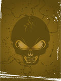 Skull background Royalty Free Stock Photos