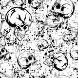 Skull_background 库存图片