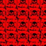 Skull_background 免版税图库摄影