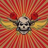 Skull background Royalty Free Stock Image