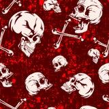 Skull_background Stock Photography