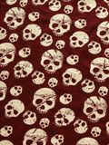 Skull background. Halloween. Skull grungy red vintage background. Halloween Royalty Free Stock Images
